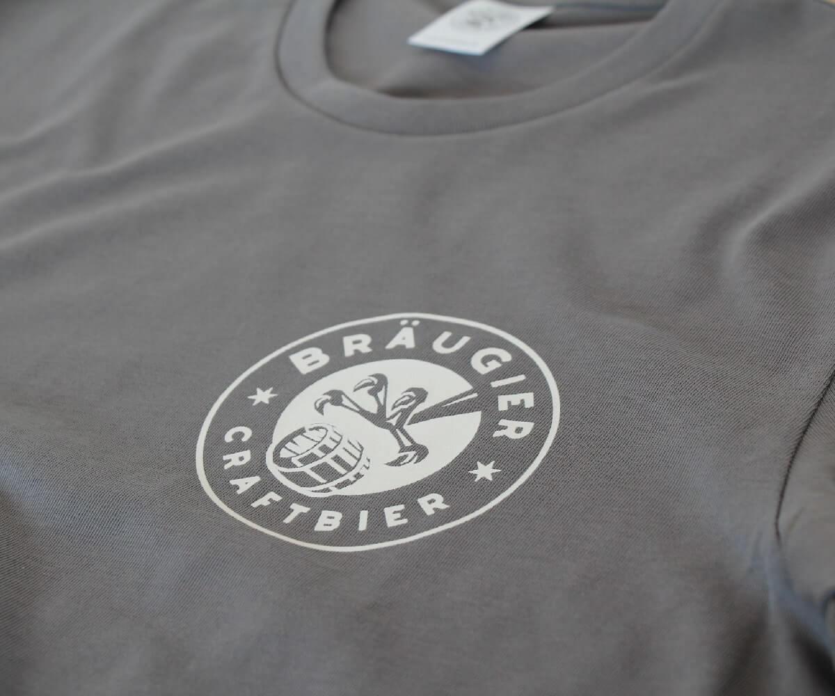 BRÄUGIER T-Shirt Grau