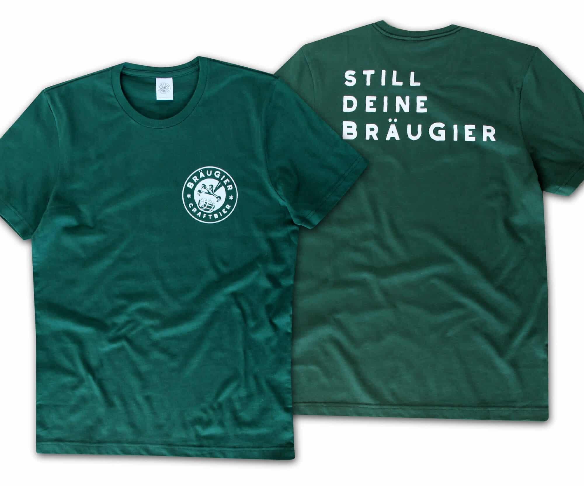 BRÄUGIER T-Shirt Grün