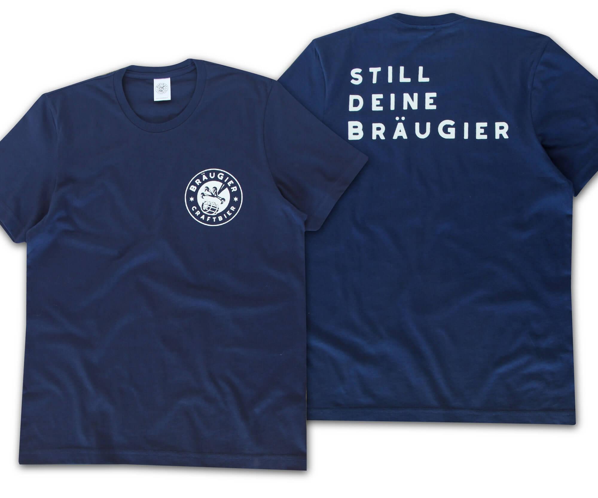 BRÄUGIER T-Shirt Navy