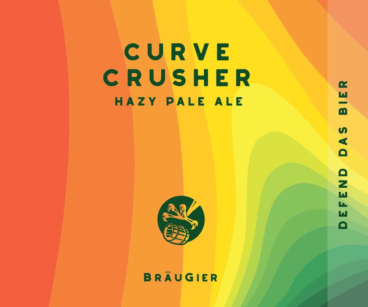 BRÄUGIER Curve Crusher Label