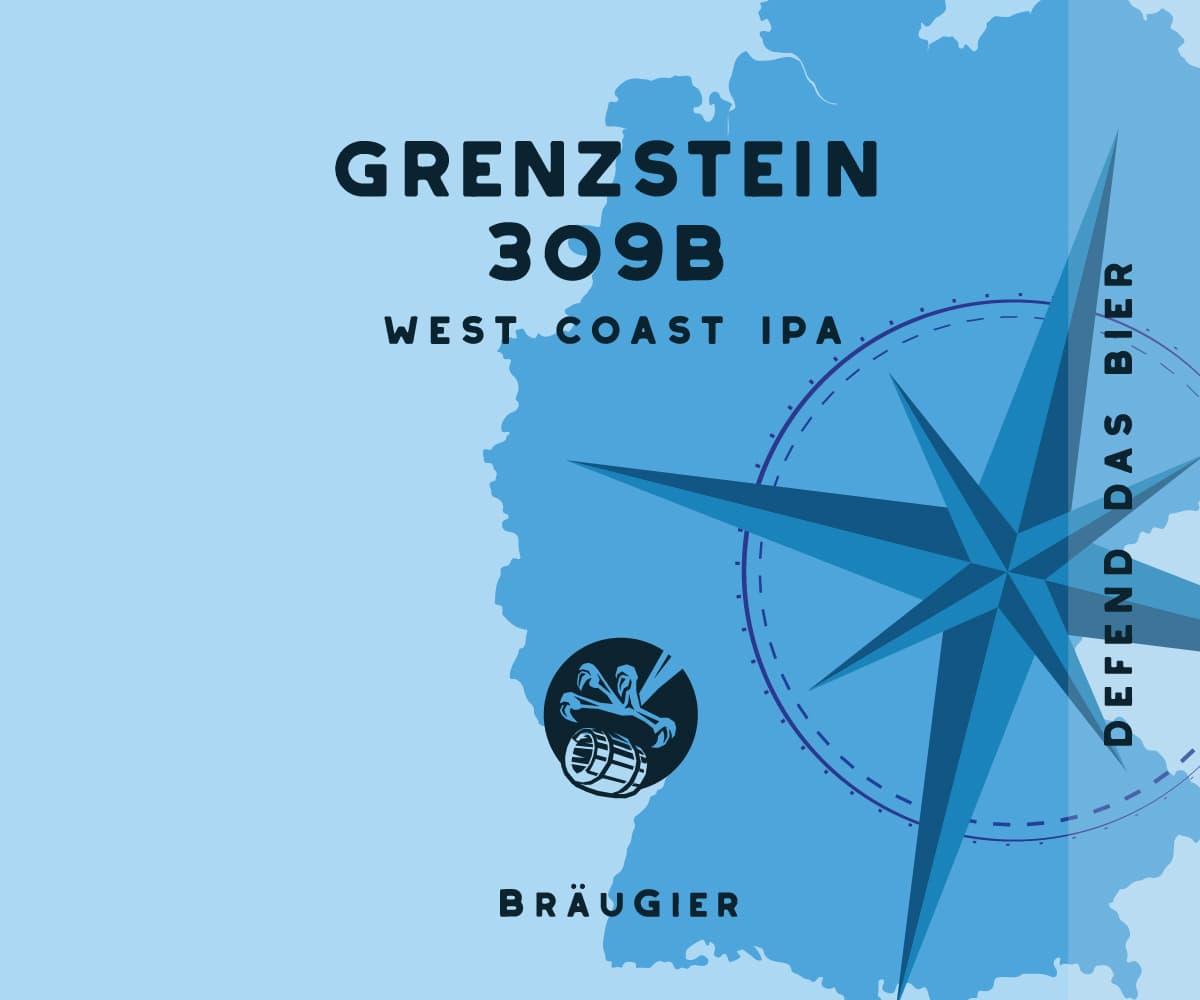BRÄUGIER Grenystein 309B Label