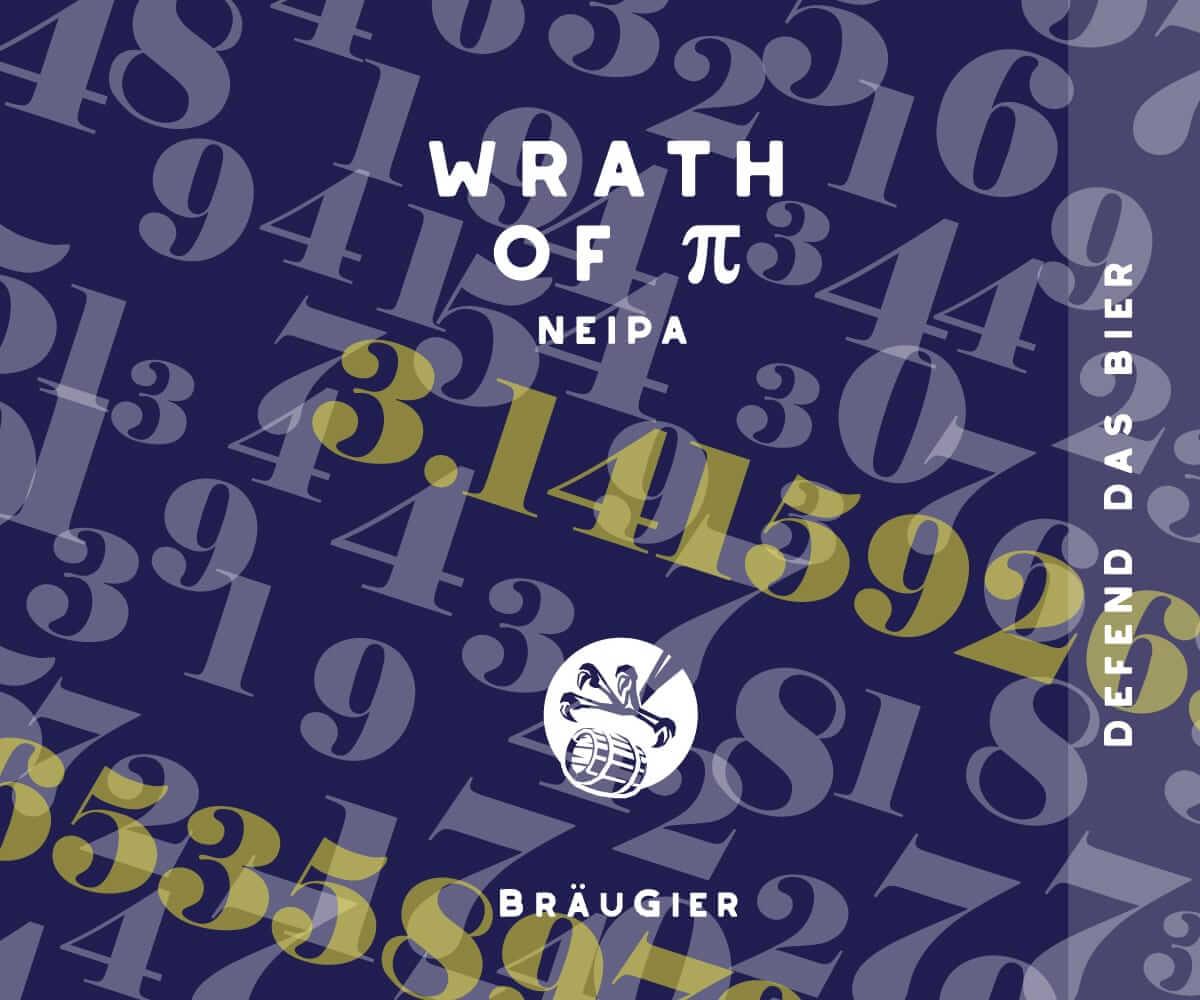 BRÄUGIER Wrath of Pi Label